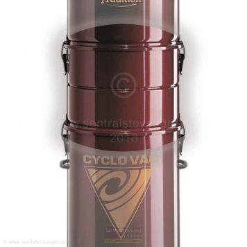 Cyclo Vac HX7515 sentralstøvsuger med slangesett