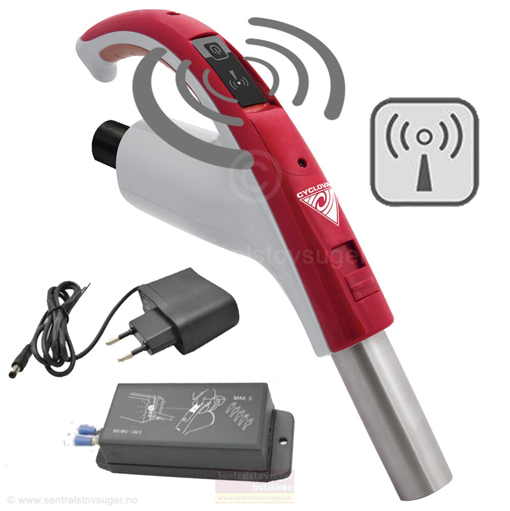 RETRAFLEX håndtak RF - Med trådløs AV-PÅ Bryter -  Komplett med 915 MHz mottaker