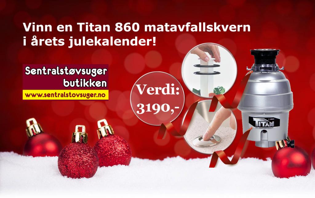 Vinn en matavfallskvern i årets julekalender!